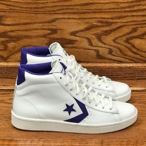 e943d4d80950 Converse Shoes - 🎁 Converse Pro Star PL Leather 76 Mid White Candy